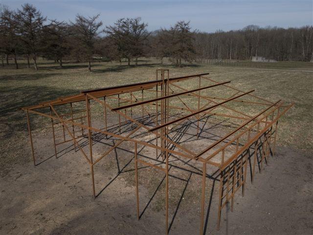 silhouetten voormalig kamp westerbork