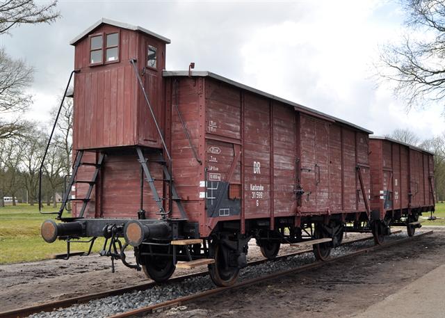 Restauratie goederen wagon - WO2